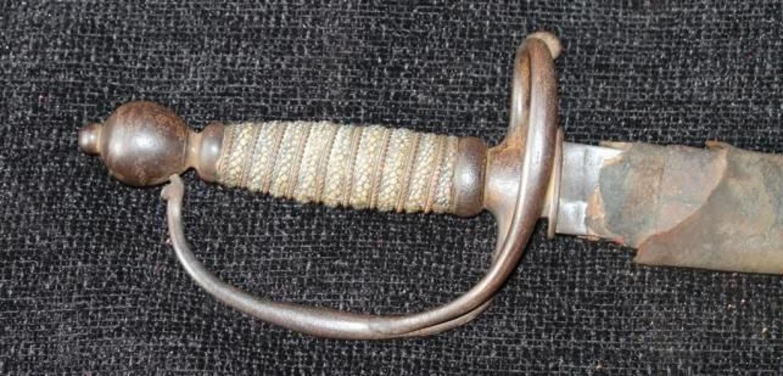 English Officers Hanger Circa 1760