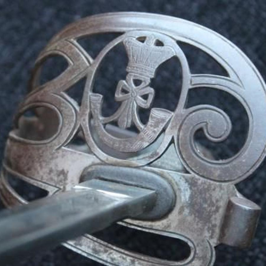 Raj Period 1827 Pattern Rifle Officers Sword