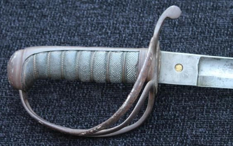 1821 Royal Artillery Officers Sword