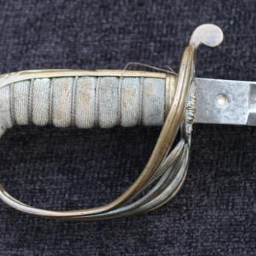 Warwickshire Regiment Officers Sword