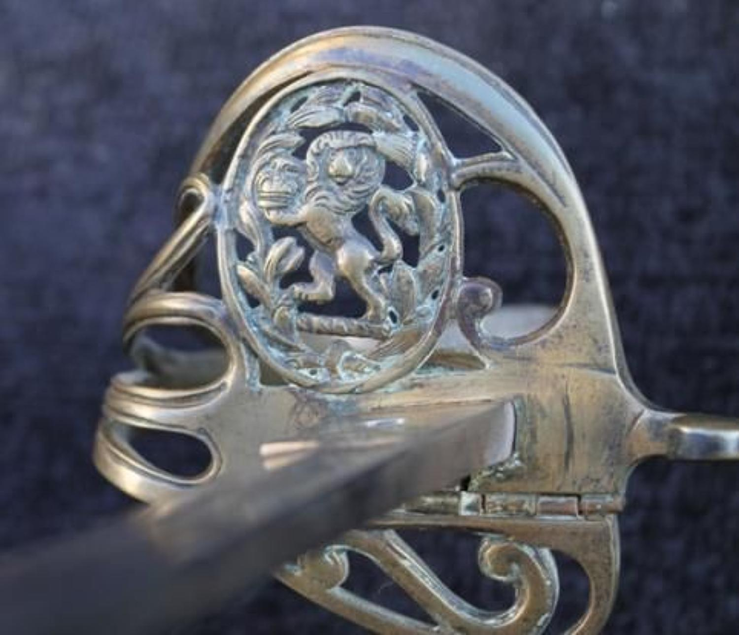 Attributed East India Company Officers Sword
