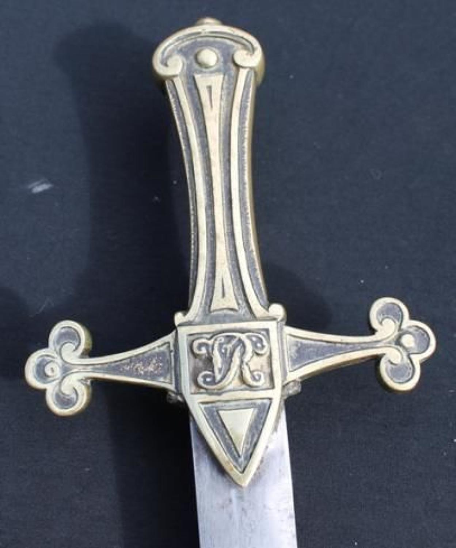 Pre 1856 Pattern Bandsmans Sword Devonshire Regiment