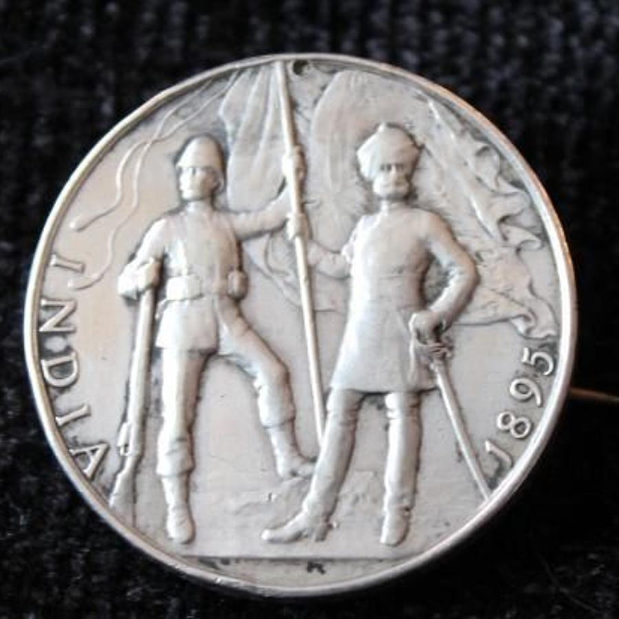 India General Service Medal 1895 KOSB