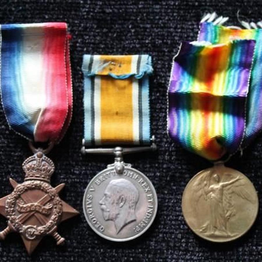 WW1 Trio Royal Artillery