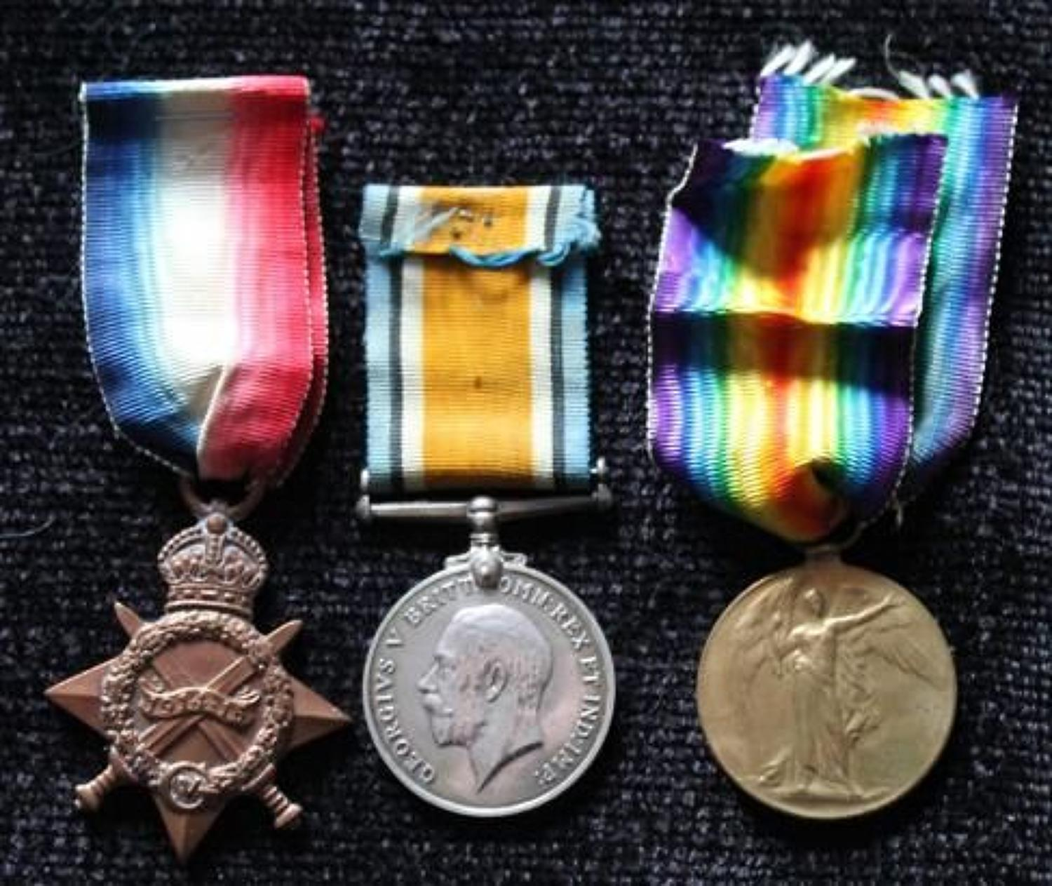 WW1 Trio Royal Artillery