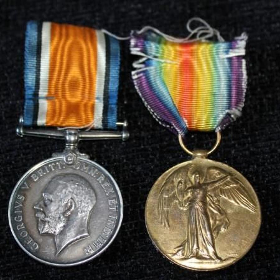 Medal Pair South African Infantry