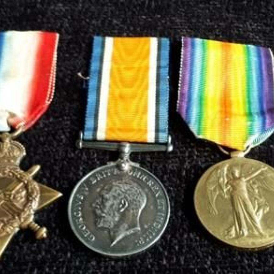 Father and Son Medal Group Wagstaffe