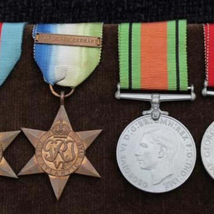 British WW2 Naval Medals