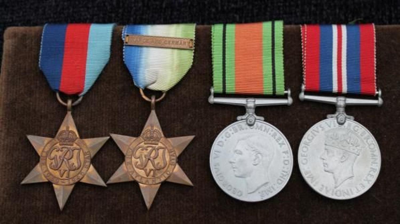 British WW2 Naval Medals