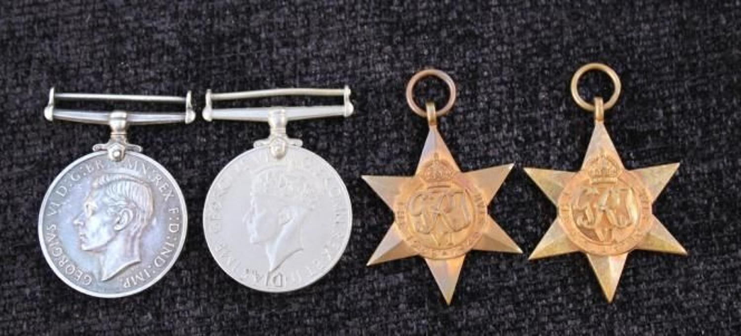 WW2 Naval LSGC Medal Group