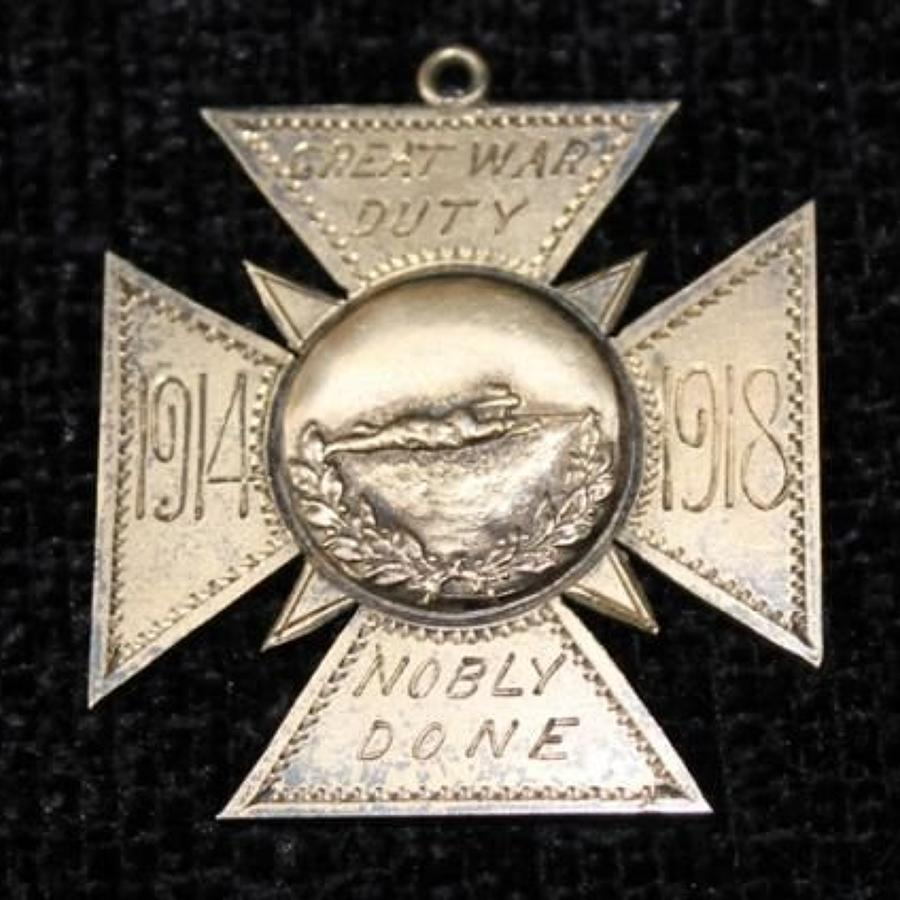 Canadian Great War Medal