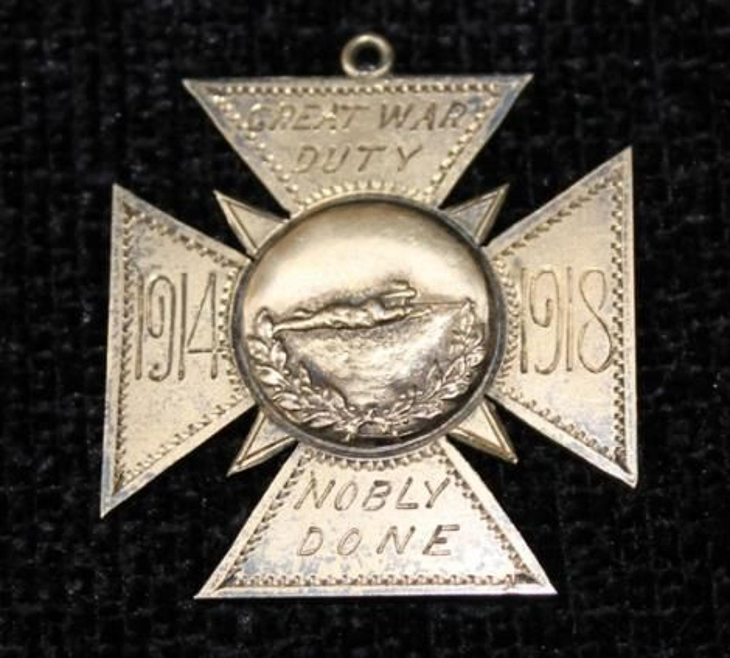 Canadian Great War Medal