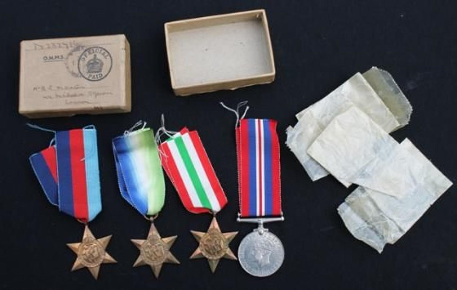 WW2 Royal Navy Medals