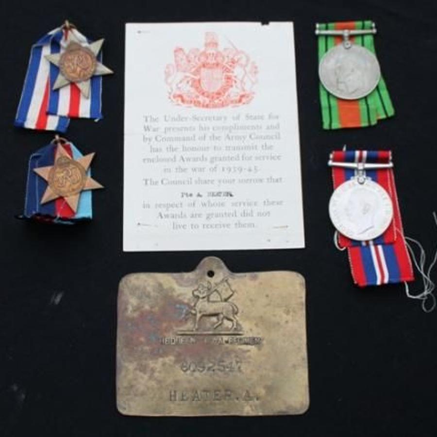 WW2 Queens Regiment Casualty Group