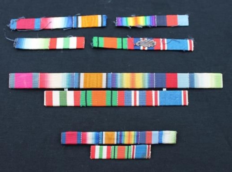 Naval DSO Medal Ribbon Bars