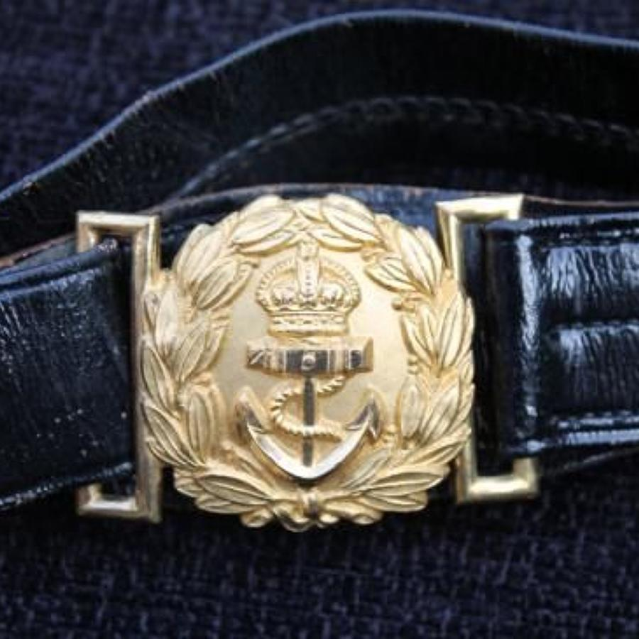 Scarce George V Midshipman's Dirk Belt