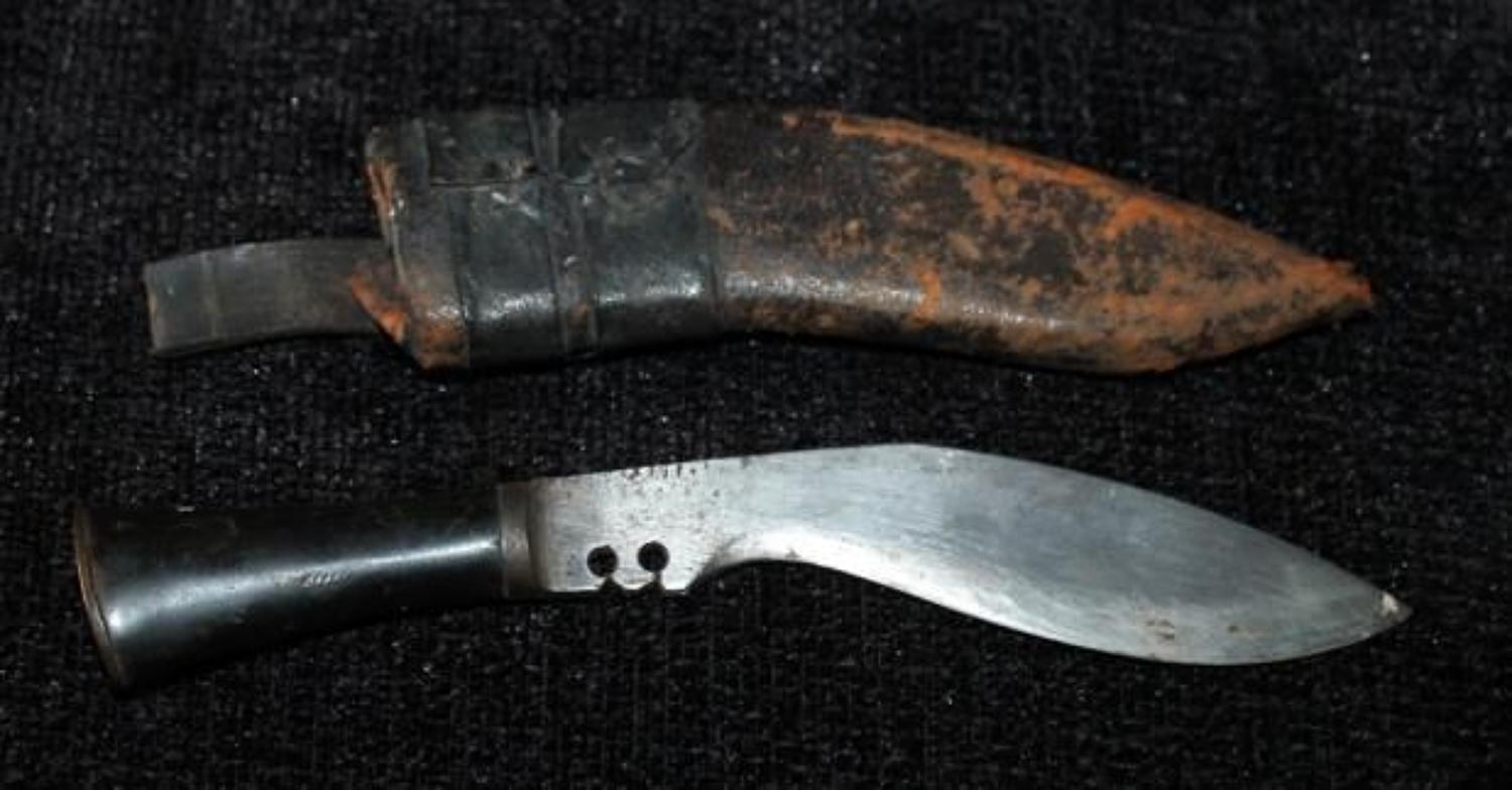 Small Horn Hilted Kukri