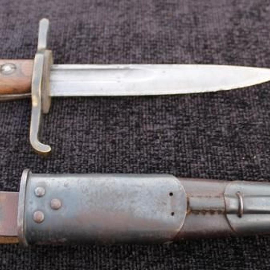 Cut Down SMLE Bayonet Fighting Knife