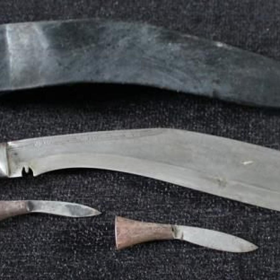 Metal Handled Kukri