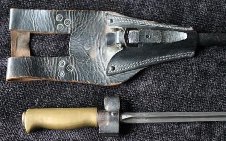 French Model 1886 Lebel Bayonet