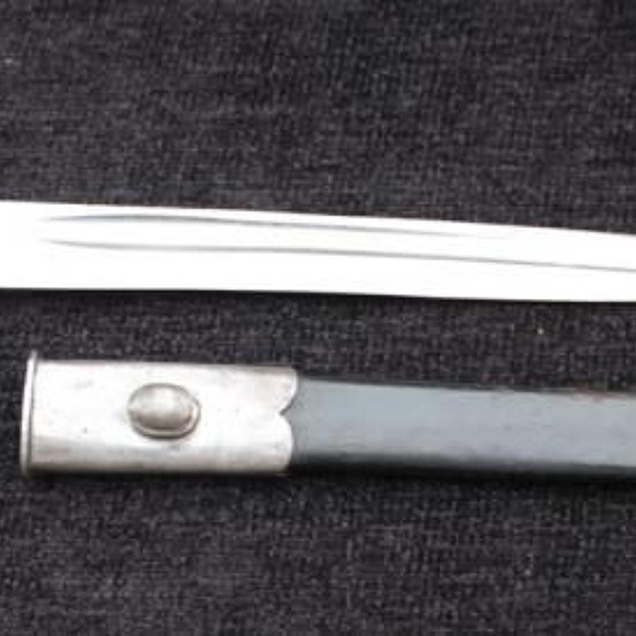 Martini Henry Cadet Bayonet Spear Point