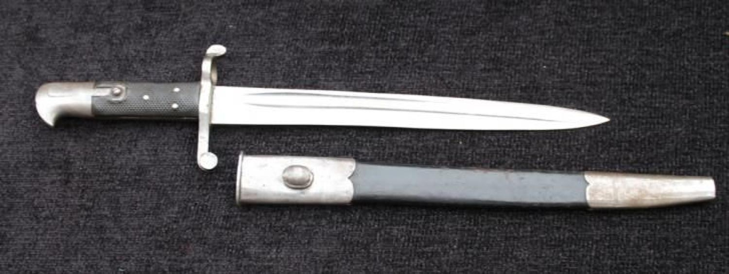 Martini Henry Cadet Bayonet Spear Point