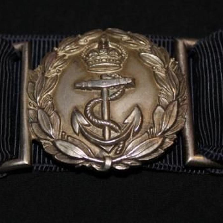 Royal Naval Dress Belt