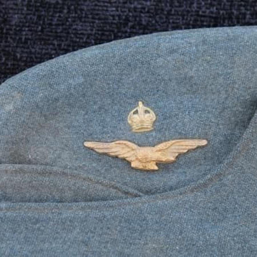 RAF Officers Side Cap