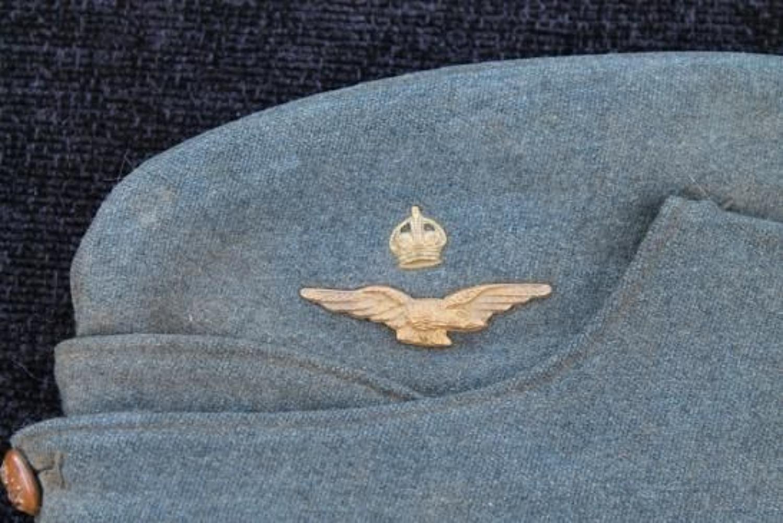 RAF Officers Side Cap