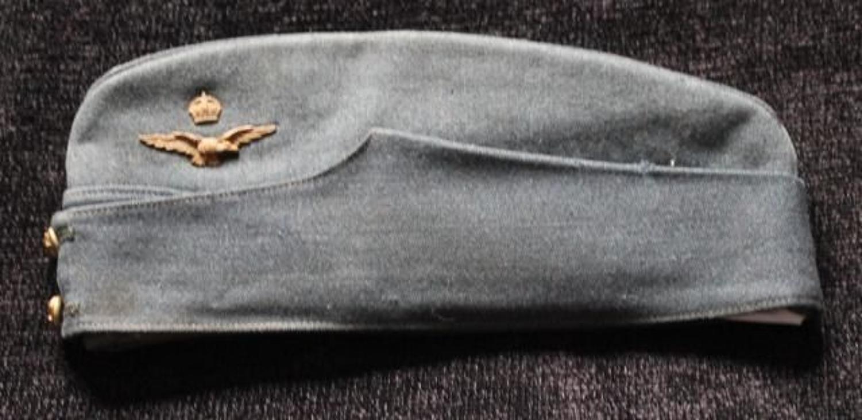 RAF Officers Side Cap Named