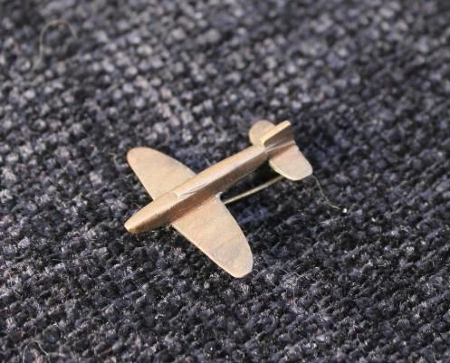 Spitfire Fund Pin Badge