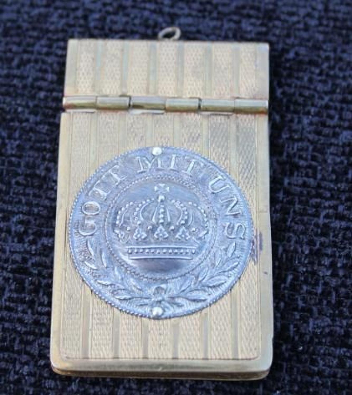 Imperial German Souvenir Notepad
