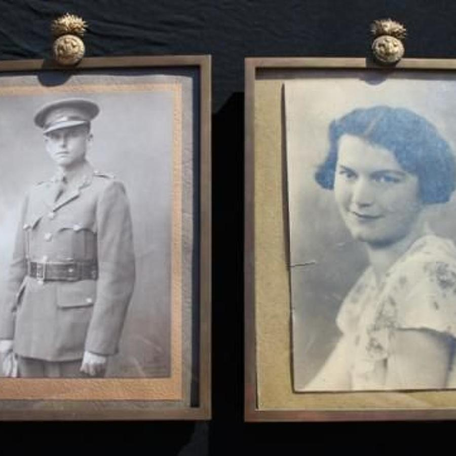 Royal Welch Fusiliers Regimental Photograph Frames