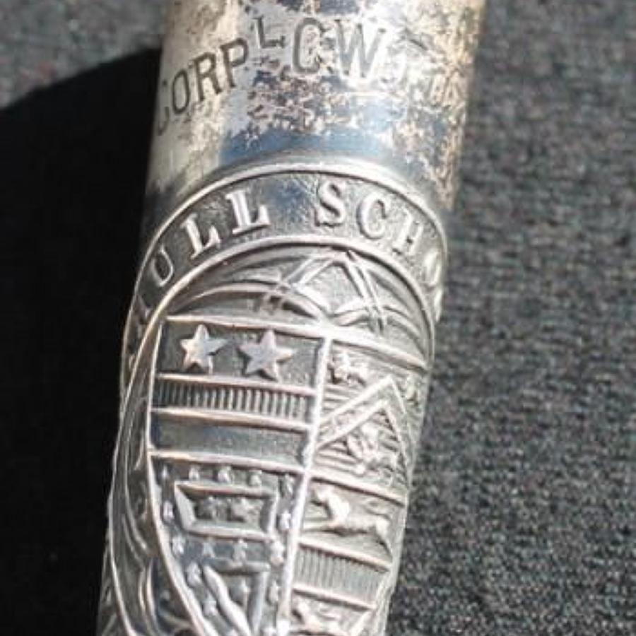 Solihull School OTC Silver Swagger Stick