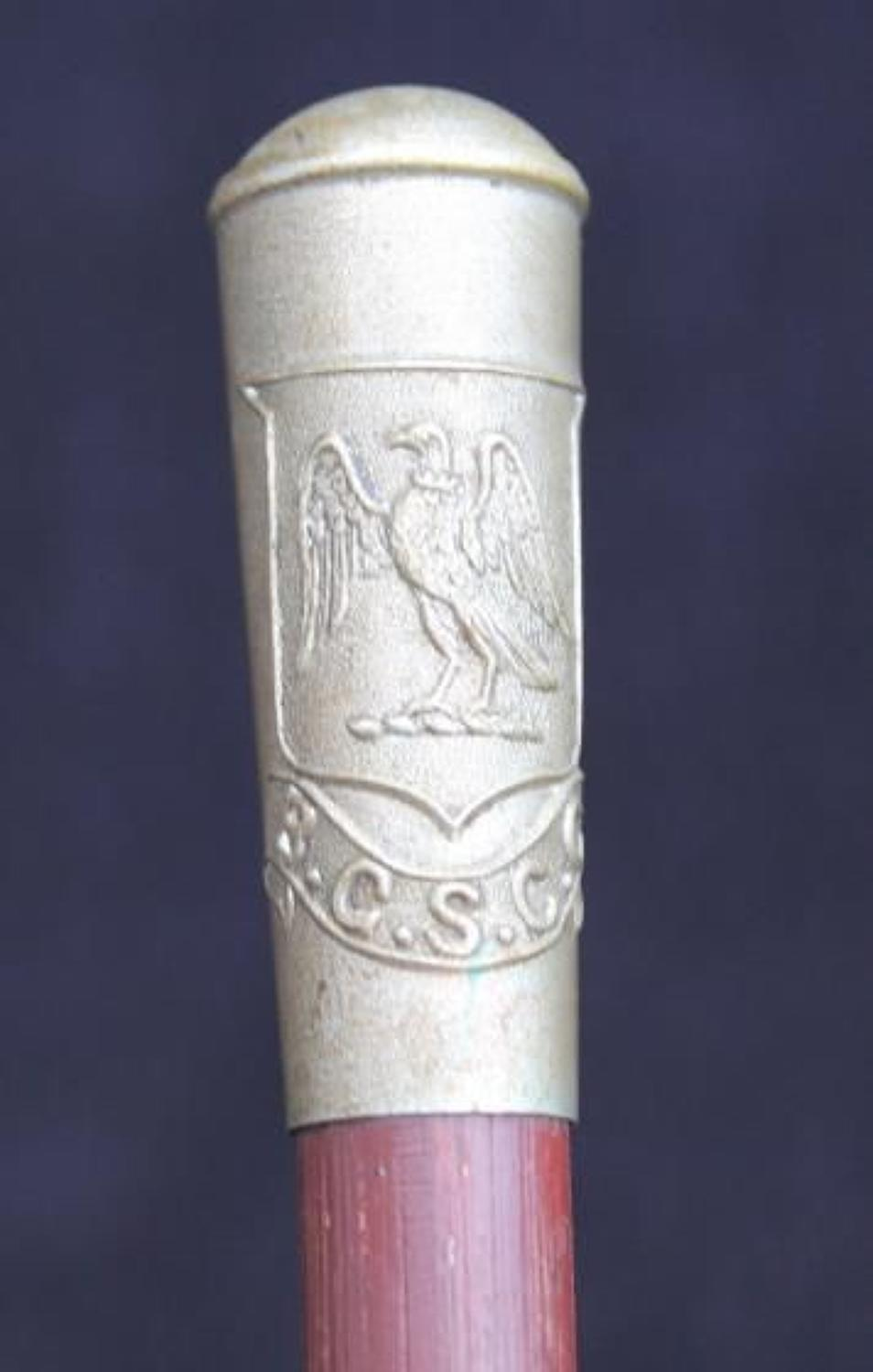 B.G.S.C.C Swagger Stick