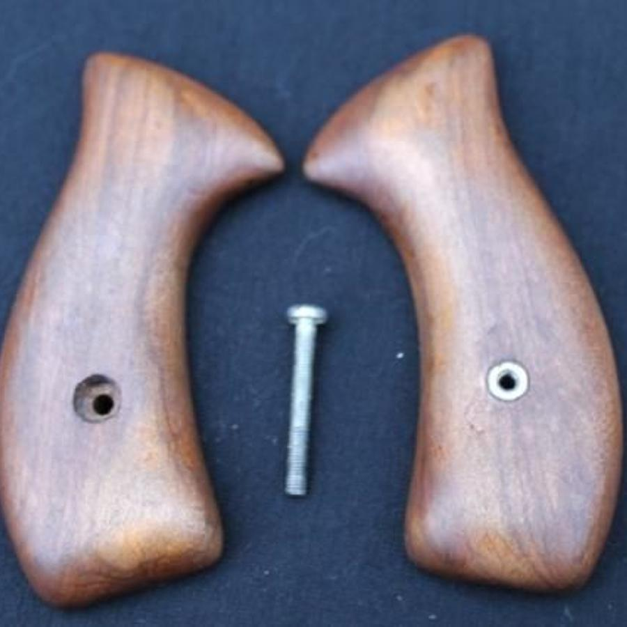 Set Of Victorian Revolver Grips
