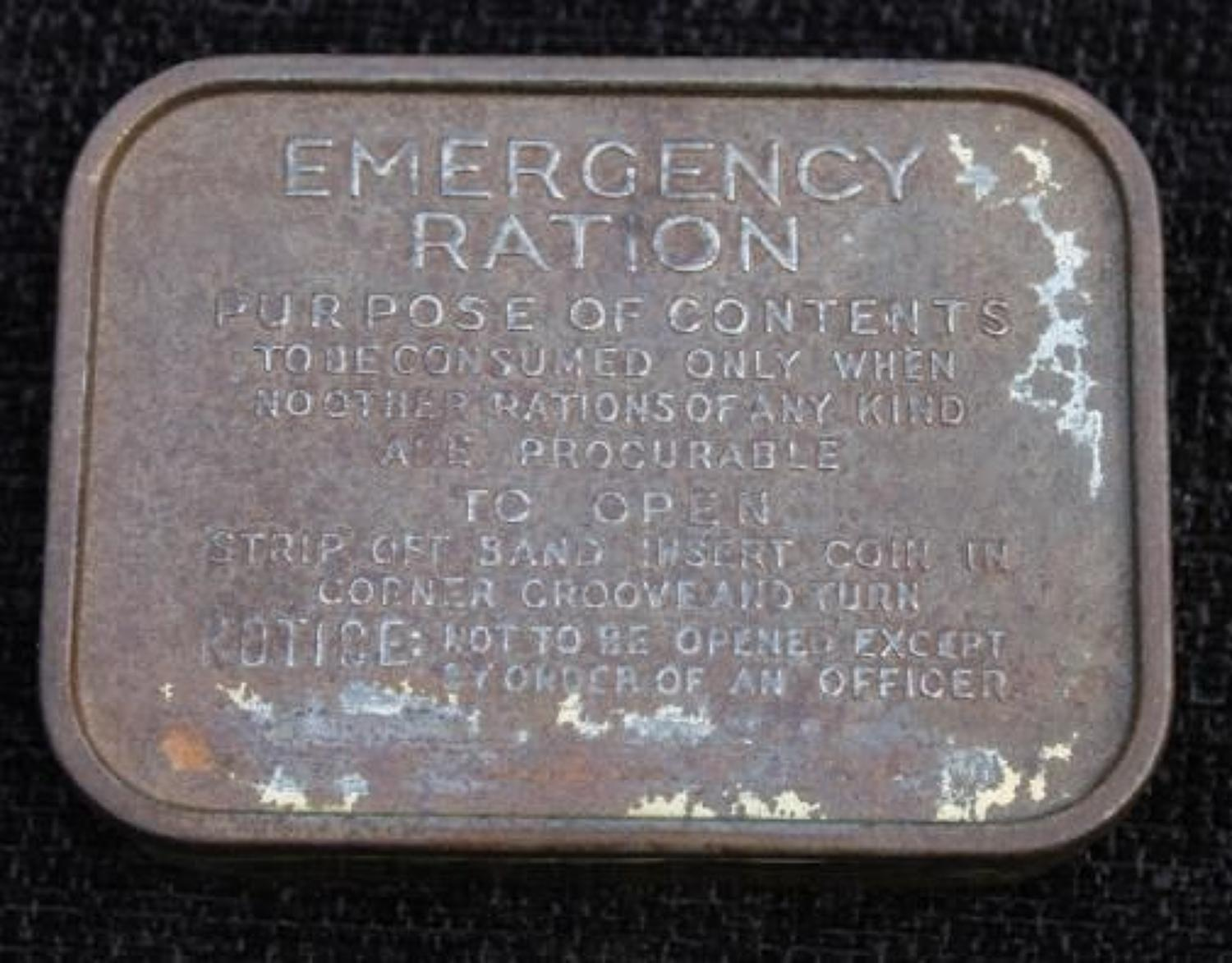 Emergency Ration Tin