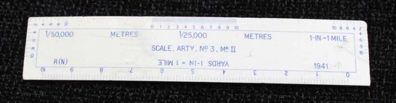 Artillery Scale No 3 Mk II