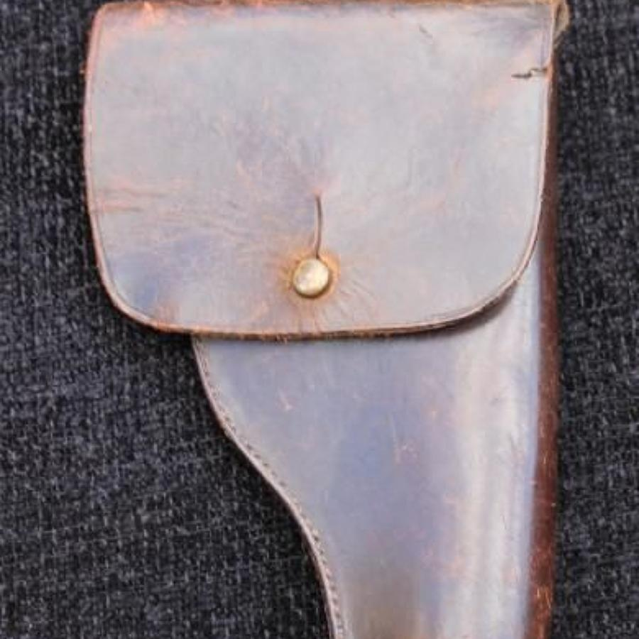 Unusual Great War Period Sam Brown Holster