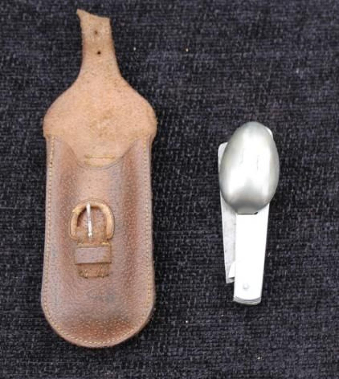 WW1 Officers Knife Fork And Spoon Set