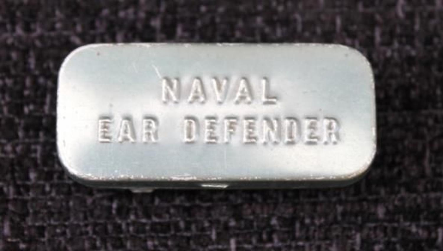 Naval Ear Defender Tin