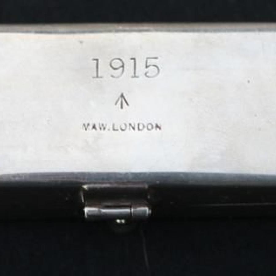 1915 Dated British RAMC Syringe