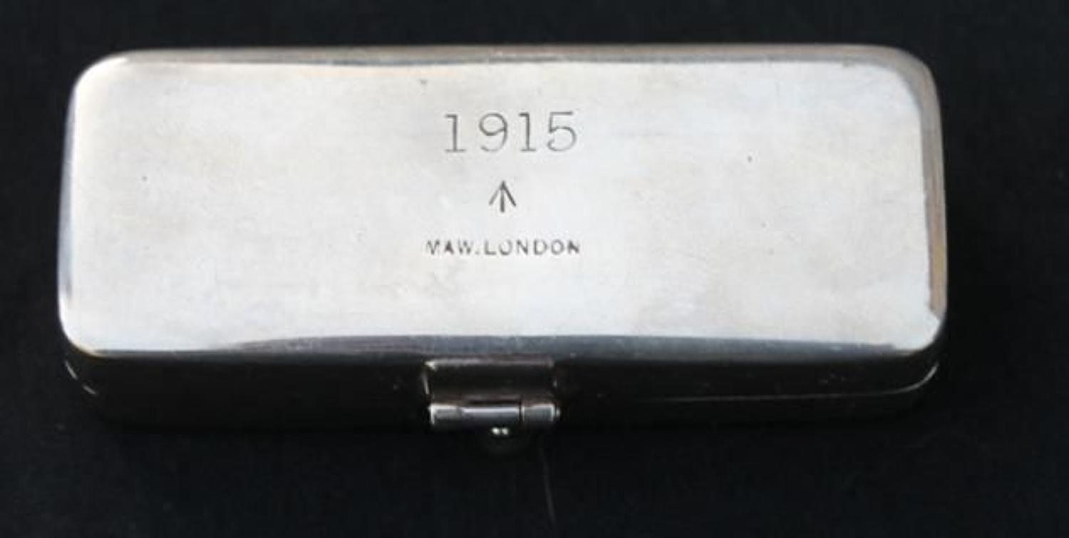 1915 Dated British RAMC Syringe
