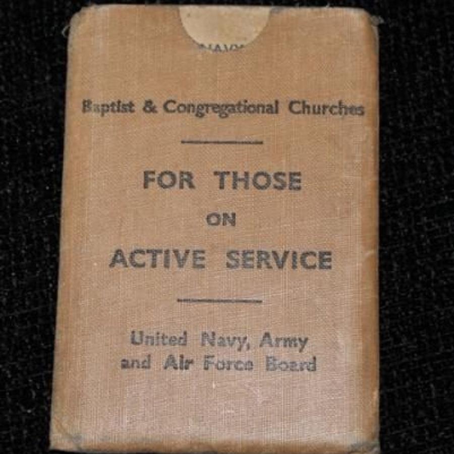 For Those On Active Service Prayer Book