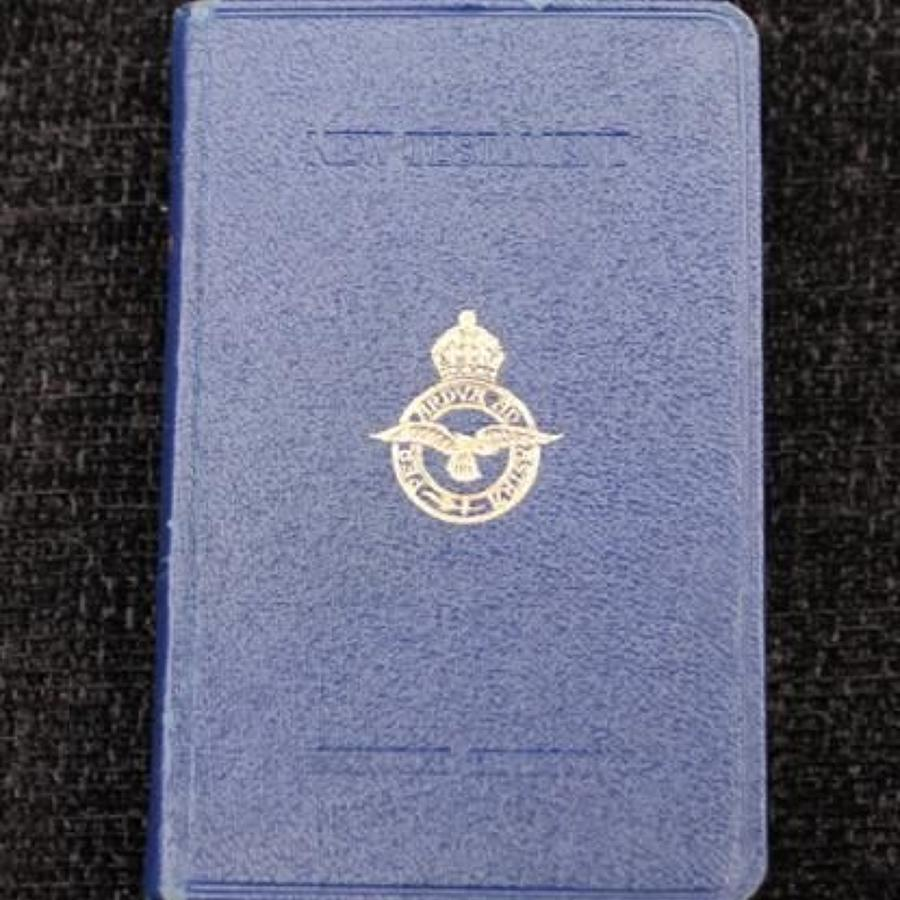 Royal Air Force Service Edition New Testament