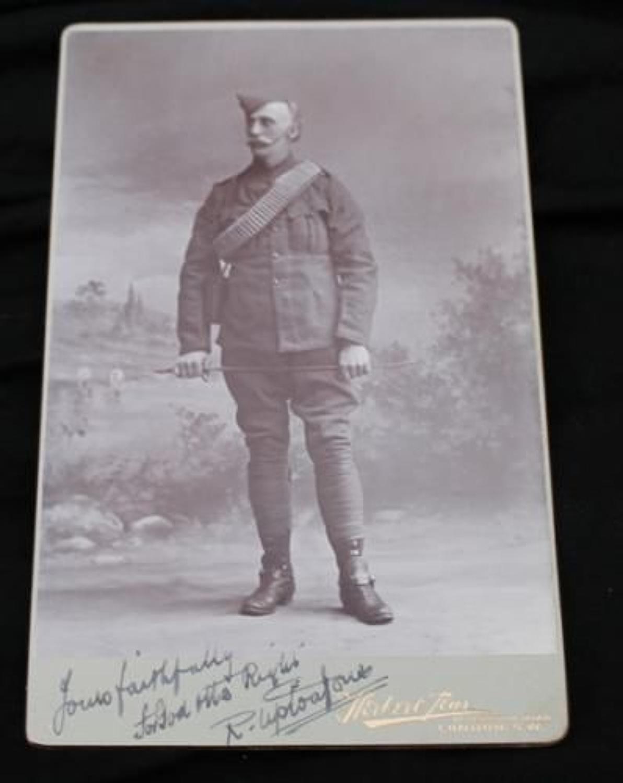 Boer War Period Cabinet Photograph
