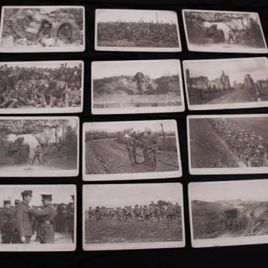 Collection of Daily Mail First World War Postcards