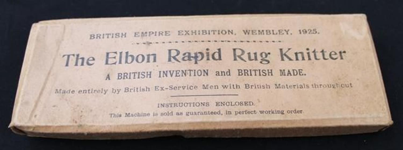 Elbon Rapid Rug Knitter