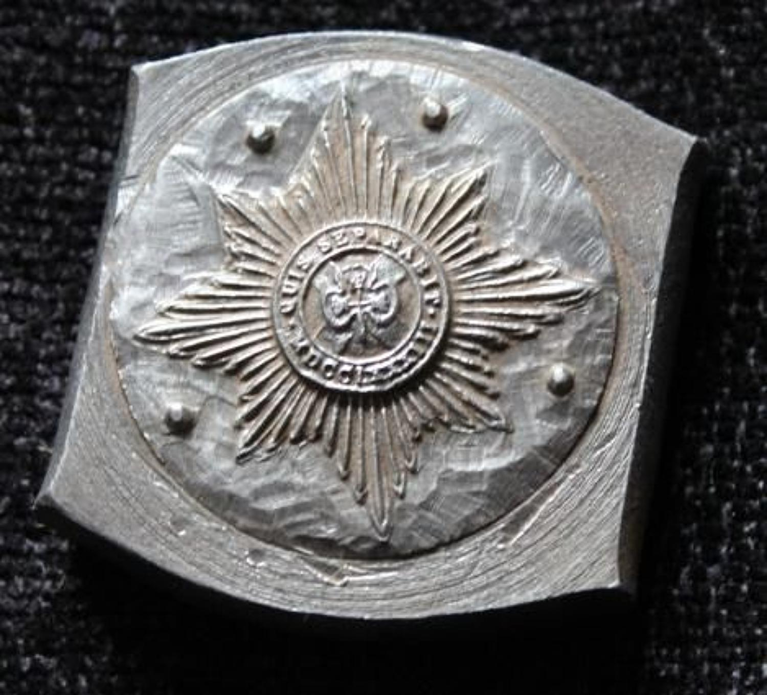 Irish Guard Badge Mould