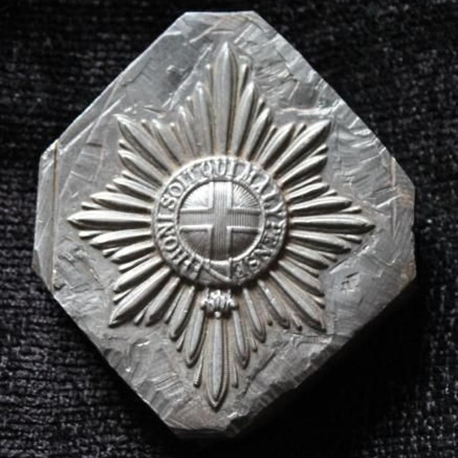 Coldstream Guards Badge Mould